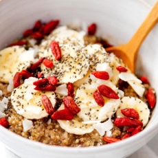 Budinca de quinoa